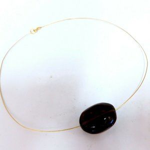 Jewelry - Arizona Topaz Necklace 14kt Solitaire